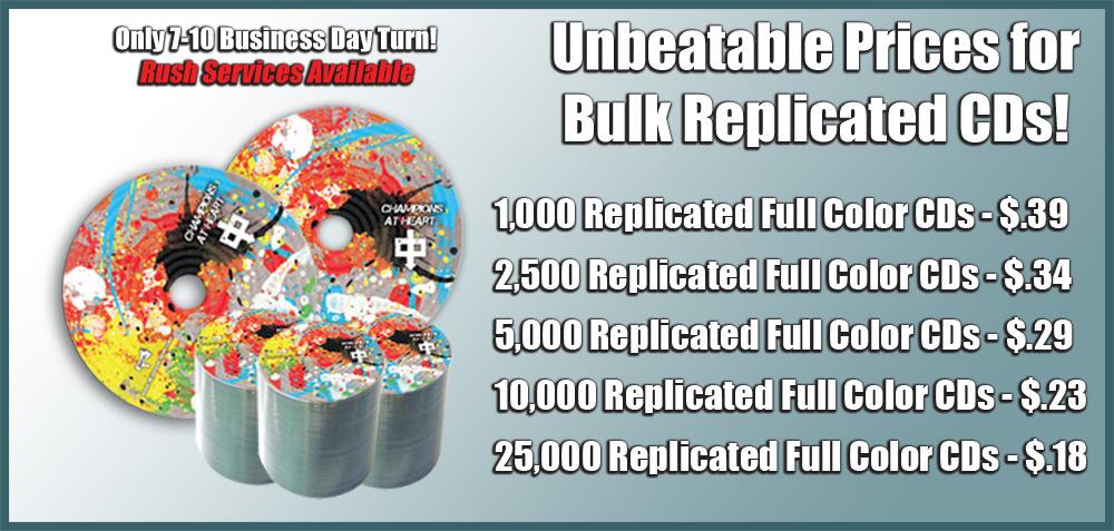 Bulk CD Replication