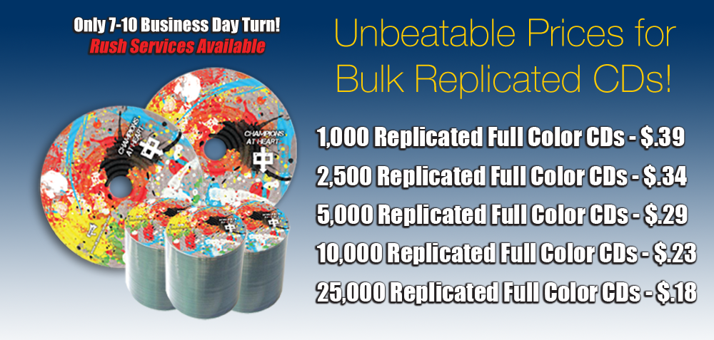 Bulk CD Replication