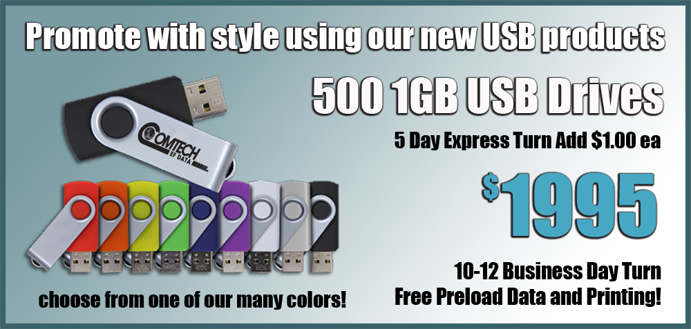 Custom Printed USB Drives