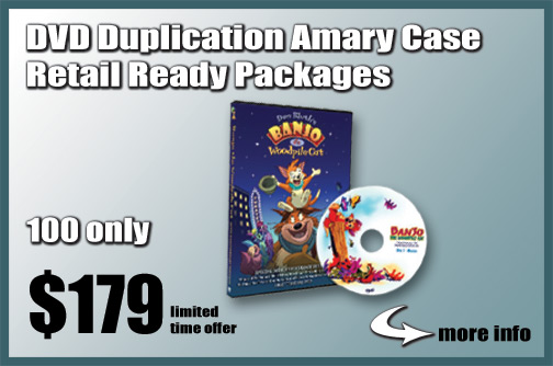 DVD Duplication Amary Case