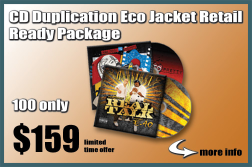 CD Duplication Eco Jacket