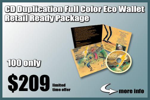 CD Duplication full color Eco Wallet