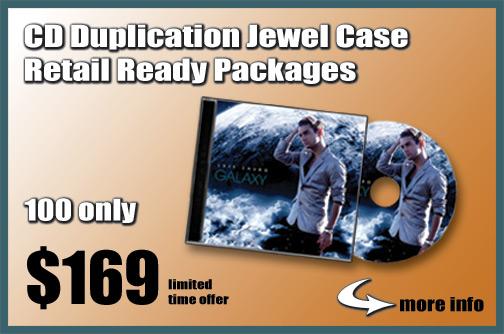 CD Duplication Jewel Case