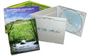 cardboard cd packaging eco friendly