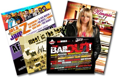 Postcards, Posters & Flyers Design
