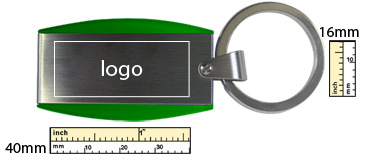 printing margin template for USB Keychain